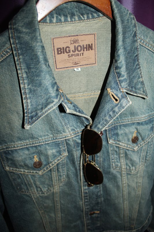 Big john denim jacket made in japan 빅죤 데님자켓 (M size)
