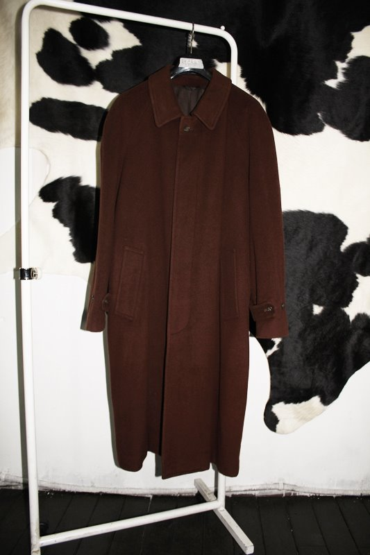 T-texco / made in Italy / 울+캐시미어30% / brown / L-XL size.