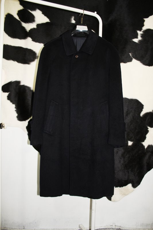 Piero Chiesa / made in Italy / 캐시미어100% / black / L size.